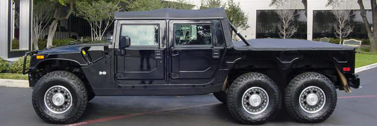 Hummer 6x6 - SixMania