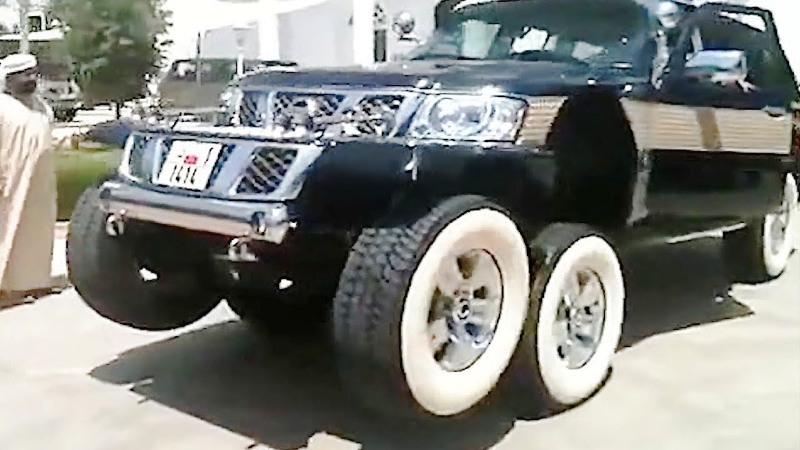 Nissan Patrol «Black Spider» & «White spider» – 2009/2010