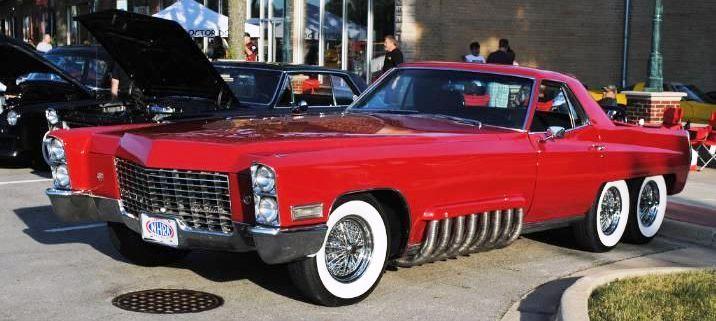 Coupé-spider Cadillac Custom – 1968