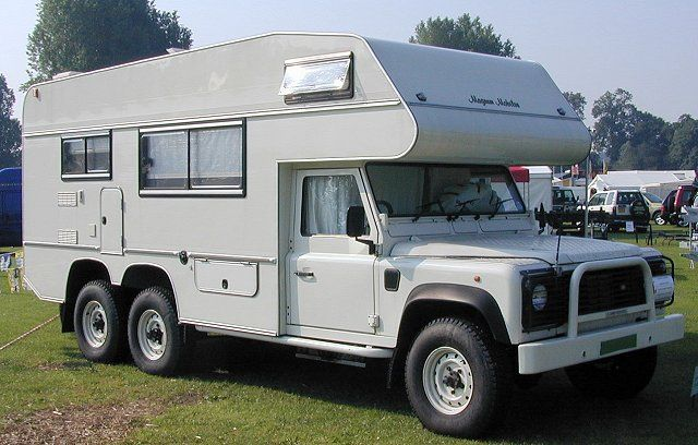Land Rover Camping cars