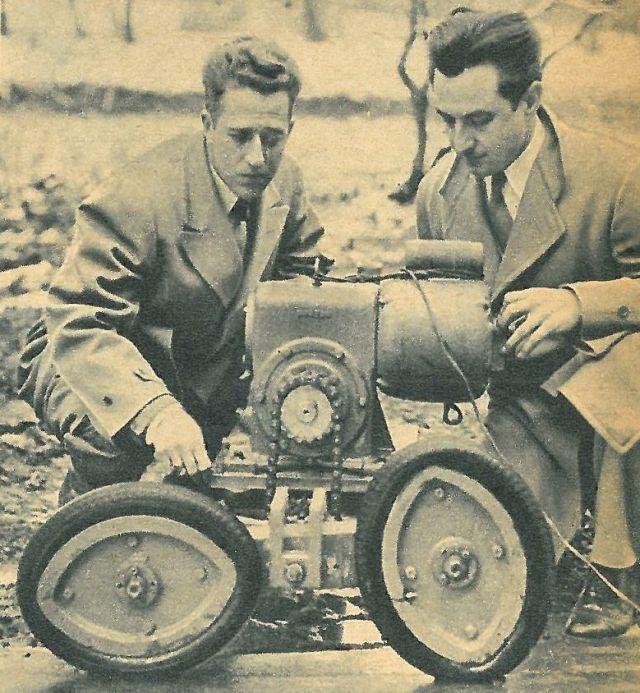 Tracteur M7 – Allice Chalmers Roues Elliptiques (1950) USA
