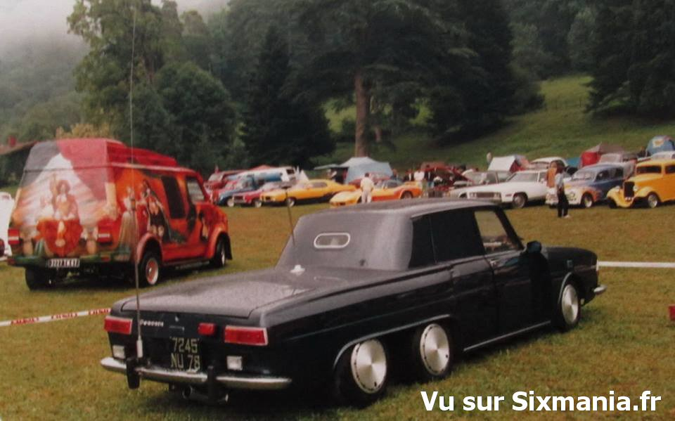 Renault 10 custom – 6×2 -1987