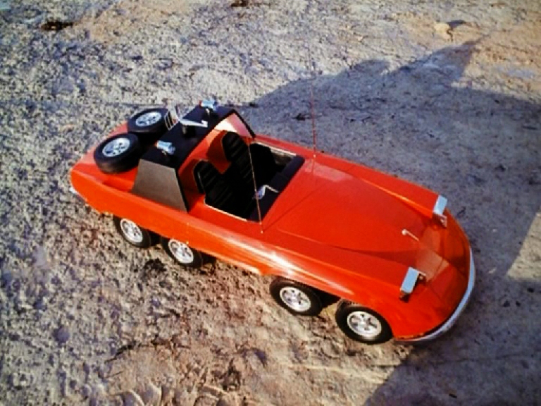 Eight-Wheeler Investigator car – 1973