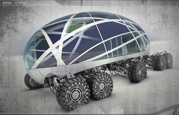 Nomad – concept multiroues du futur – 2010