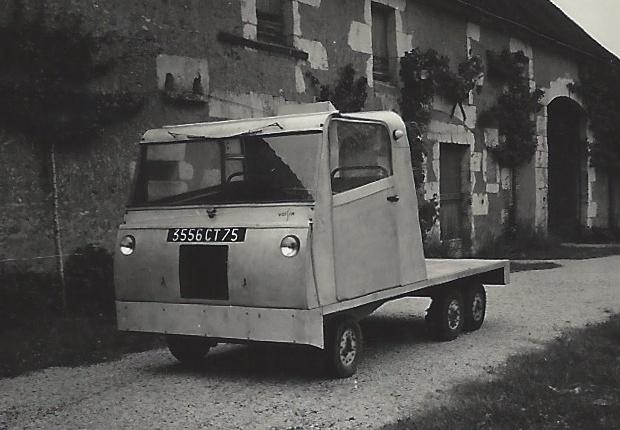 La Camionnette 6 roues de Gabriel Voisin – 1957