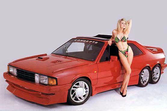 Volkswagen Scirocco six-wheeler custom – 1986