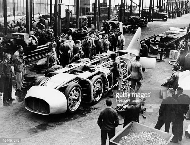 Thunderbolt 6 roues de record – 1937