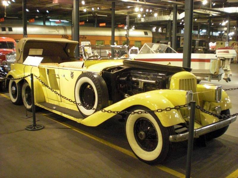 Hispano-Suiza H6A 6 roues – 1923