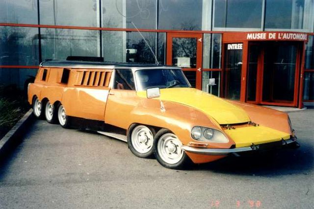 DS Michelin Mille Pattes – 1972