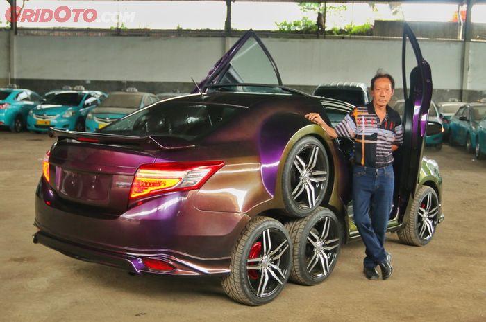 Toyota Vios à 8 roues en étoiles – Roni Gunawan 2018
