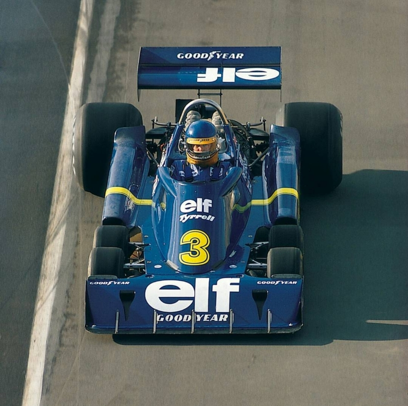 Tyrrell P34 – Derek Gardner 1976-1977