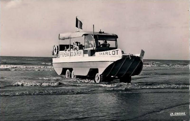 Promenade en mer en DUKW – Malo-les-Bains 1950