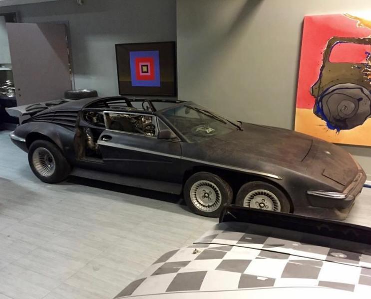 6 Wheeled Jaguar e-Type – Oslo 1983