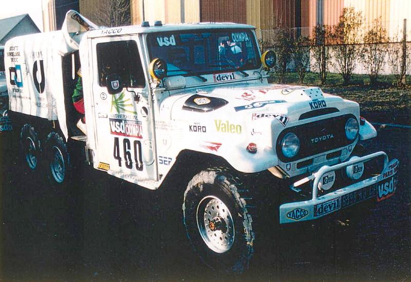 Toyota au Paris Dakar