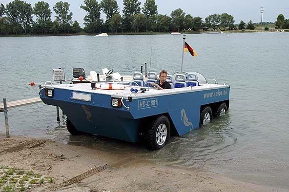 SPIOS Schwimmwagen