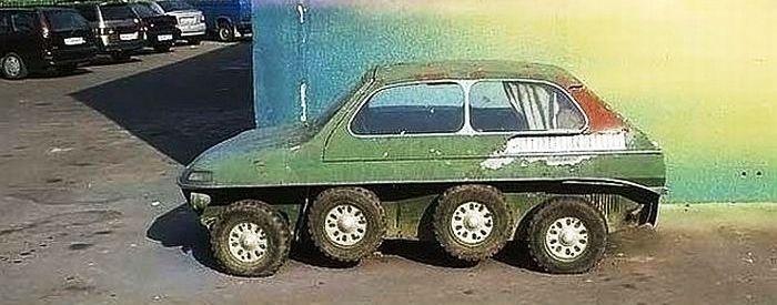 Prototypes Trabant 8 roues – 1970/1980