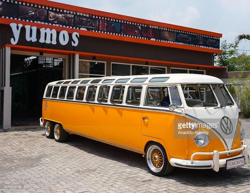Combi VW 6 roues de Yumos VW