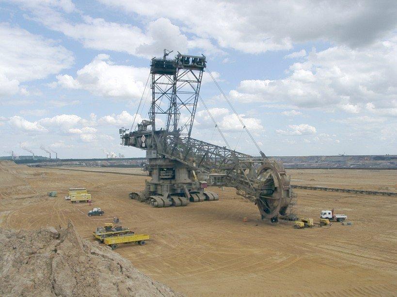 Le Bagger 288 de KRUPP : Le plus gros ATV du monde