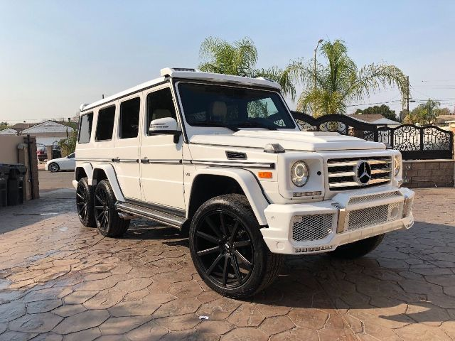 Mercedes-Benz G550 US 6×4 – 2015