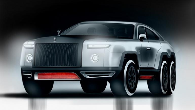 Rolls Royce Devil 6, l'ultime SUV de luxe ? – 2017