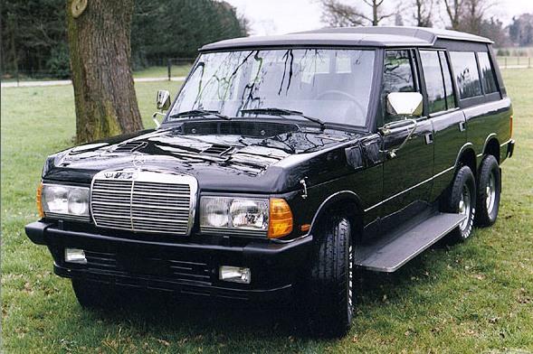 Les Range-Rover Vantagefield – 1982 à aujourd'hui