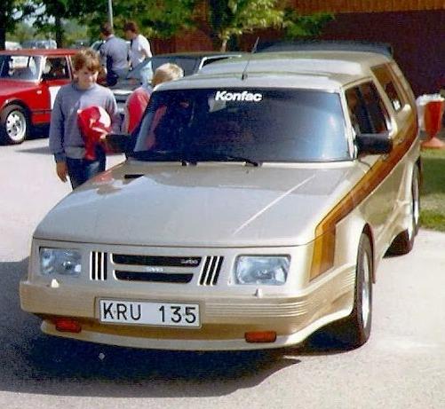 Saab 906 Turbo Sexan – 1984