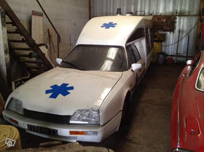Annonce 2012-005 CX ambulance 2.5 TD TISSIER