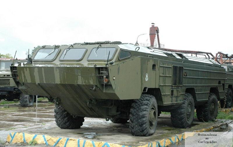 BAZ-5921 châssis flottant à 6 roues spéciales