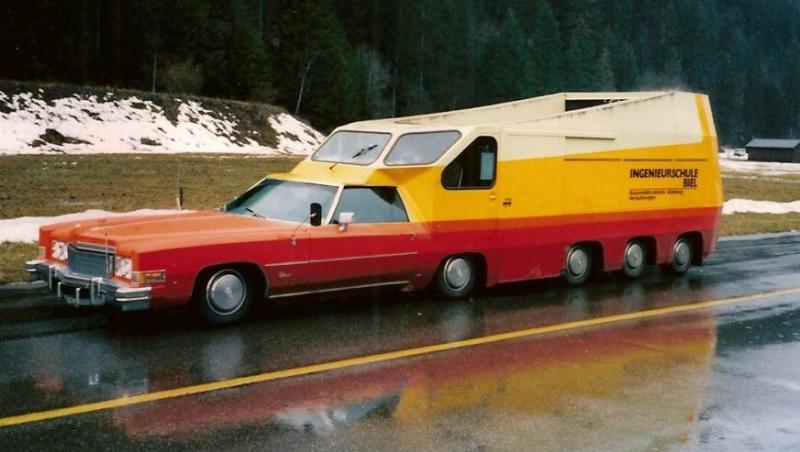 Cadillac Eldorado 10 roues du Technicum