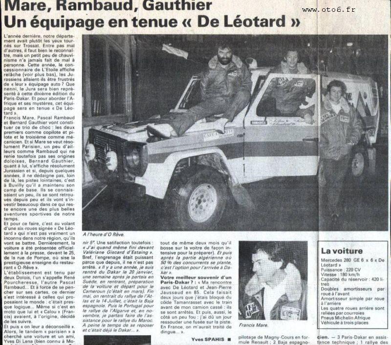 CdL – Articles de Presse