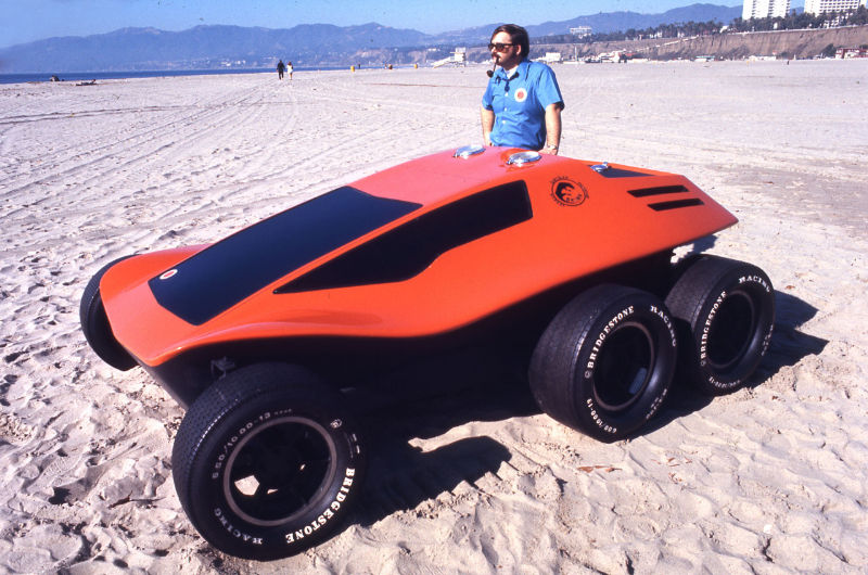 The Skink – Dune Buggy 6 roues – 1970
