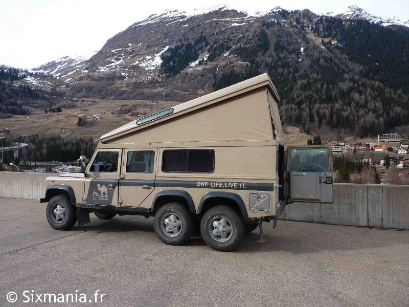 Defender 6X6 Dormobile