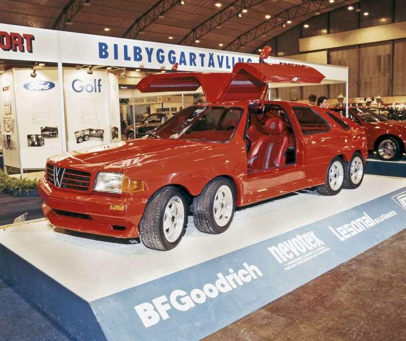 Volkswagen Golf 8 roues Suédoise – 1982