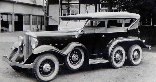 Hudson Staff 1933