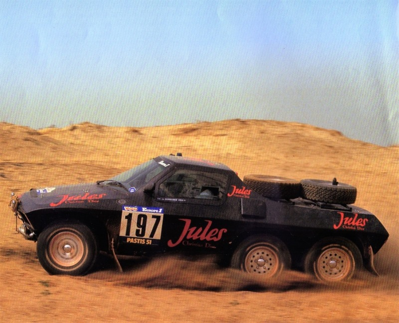 Jules 6×4 – Paris-Dakar 1984