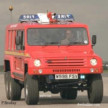 Land Rover Ibex