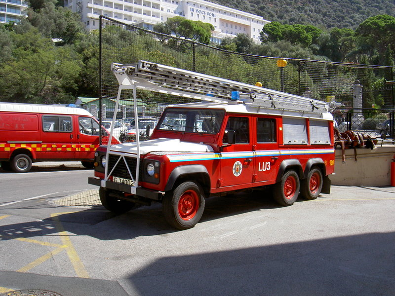 Land Rover Pompiers
