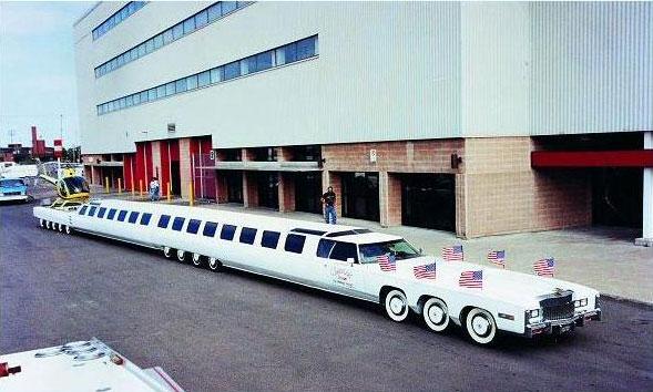L'ultra Limousine – La limousine la plus longue du monde