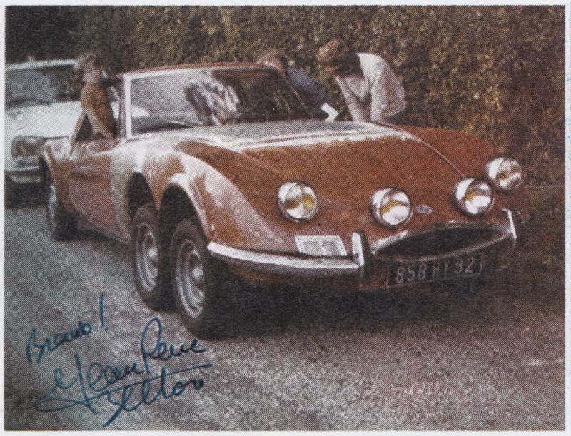 Matra M530 6 roues – Bernard Cholet – 1980