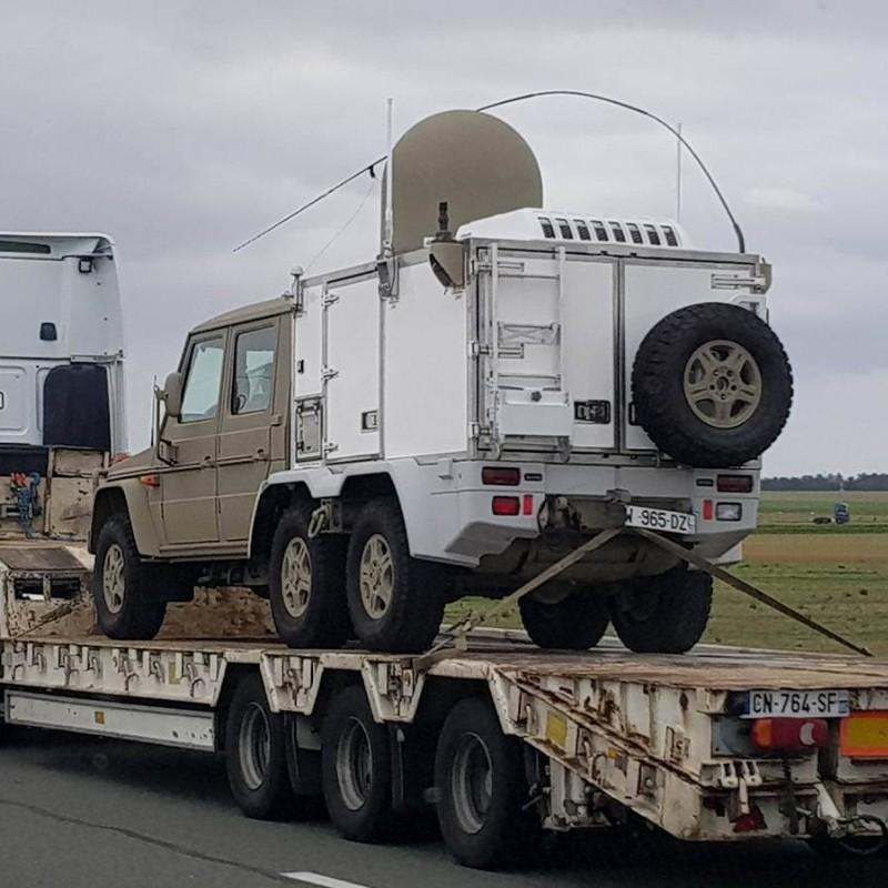 Mercedes Classe G 6×6 Militaire – France 2017