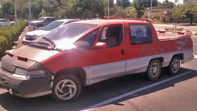 Pontiac Trans Sport pickup