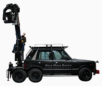 Range Rover 6×4 Road Movie Systems