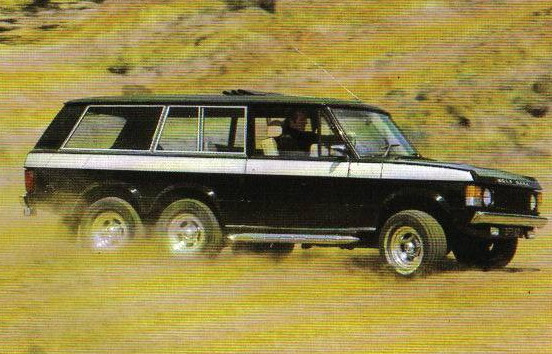 Range Rover 6×4 Wolfrace