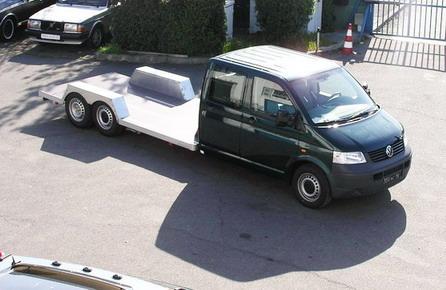 Volkswagen Plateau 6 roues